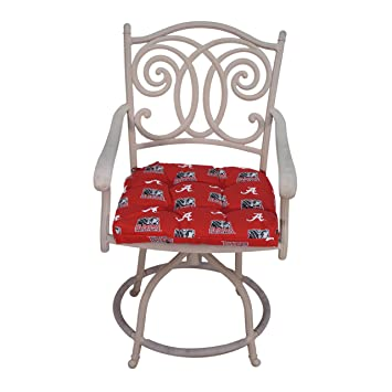 NCAA Alabama Tide Chair Cushion, 20u0026quot; X 20u0026quot; ...