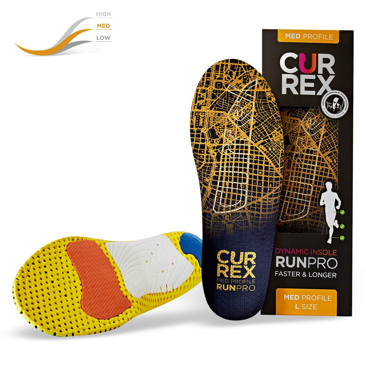 currex RunPro Running - Walking - Comfort Shoes by currex