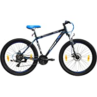 Frog Chelsea 27.5 Inches 21 Speed Front Suspension Dual Disc Brake Bike for Adults Black & Blue