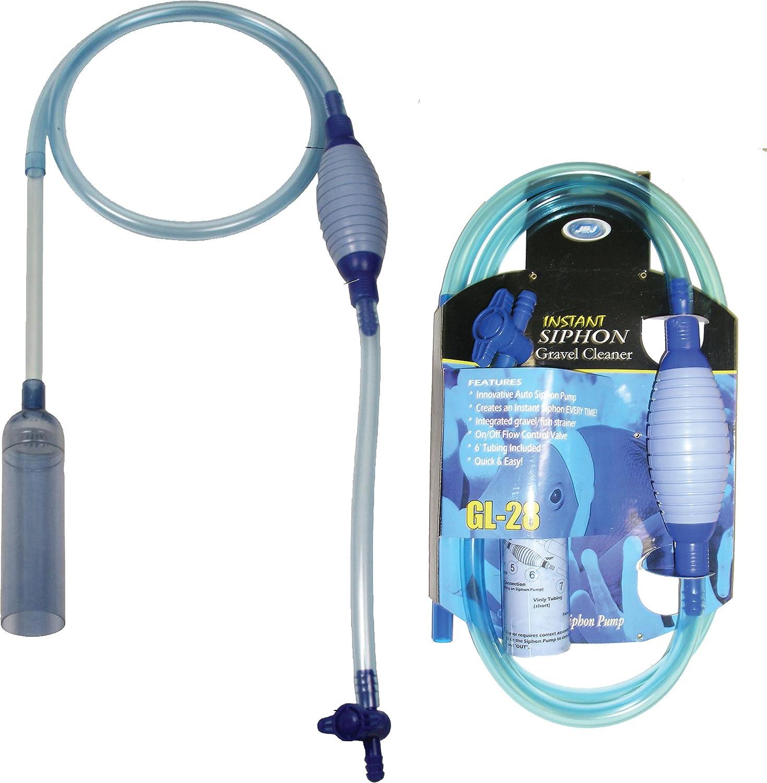 Jbj aquarium fish tank siphon gravel vacuum cleaner -