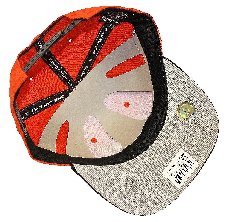 6e7f903a15ac16 47 Brand Sure Shot New York Knicks Snapback at Amazon Men's Clothing store: