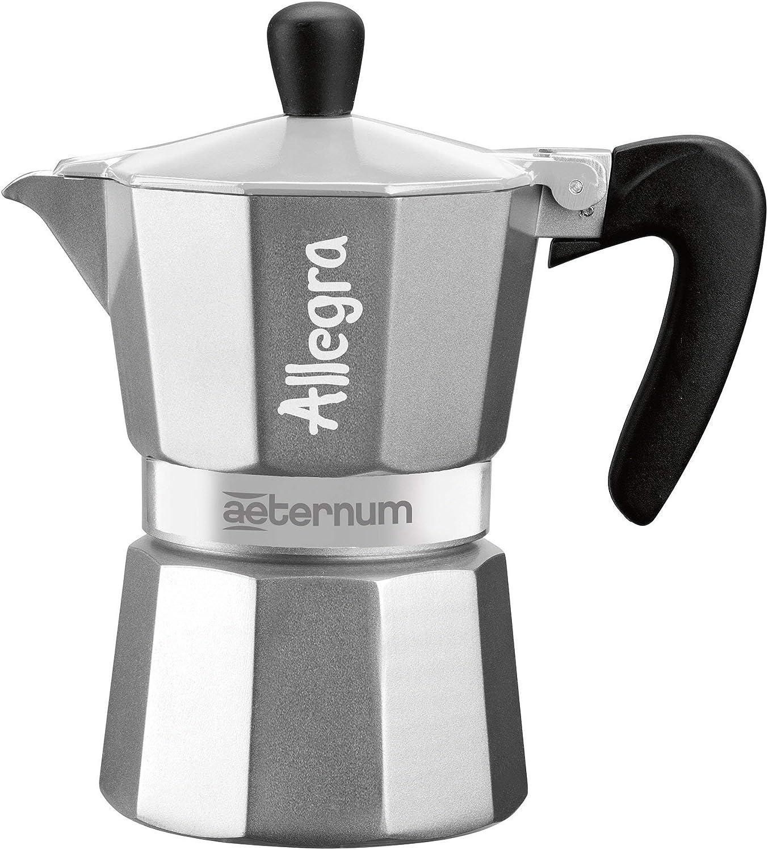 Aeternum 0006018 Allegra en Italian Coffee manga Aluminio Plata, 6 ...