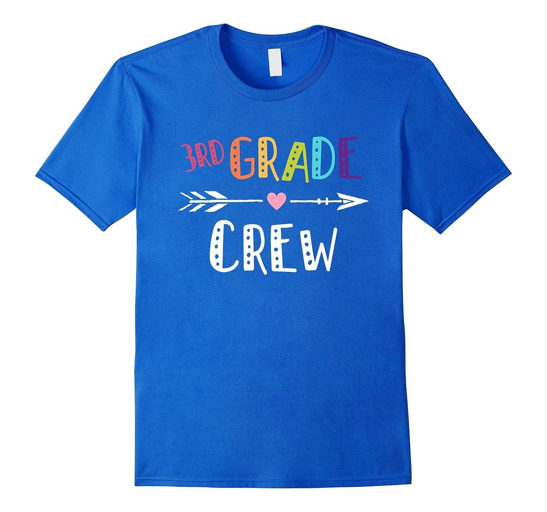 3rd Grade Crew Teacher T-Shirt 1st Day of School-FL