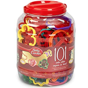Betty Crocker 82310 101 Cookie Cutters, Assorted