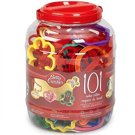 Betty Crocker 82310 101 Cookie Cutters Assorted