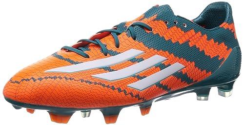 size 40 0cf28 d2f8f adidas Messi Mirosar10 10.1 FG, Scarpe da Calcio Uomo, Arancione (Power  Teal f14
