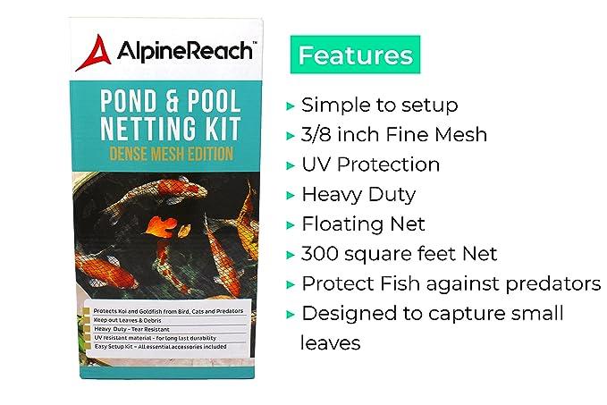 Amazon.com : AlpineReach Pond & Pool Netting 15 x 20 ft - Dense Fine ...