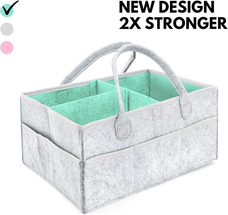 Pañalera - Compartimientos para guardar pertenencias del bebé | Cesta de regalo para fiesta de nacimiento, Registro de recién nacidos, Cesta organizadora para la habitación
