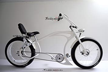 Cicli Ferrareis Bici Chopper Fat Bike 26 Bianco Cruiser Bike ...