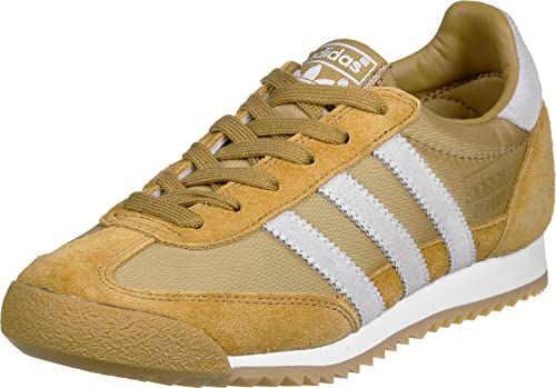 adidas dragon trainers brown