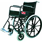 Vissco Modified Black Magic Wheel Chair with Mag Wheels - Universal