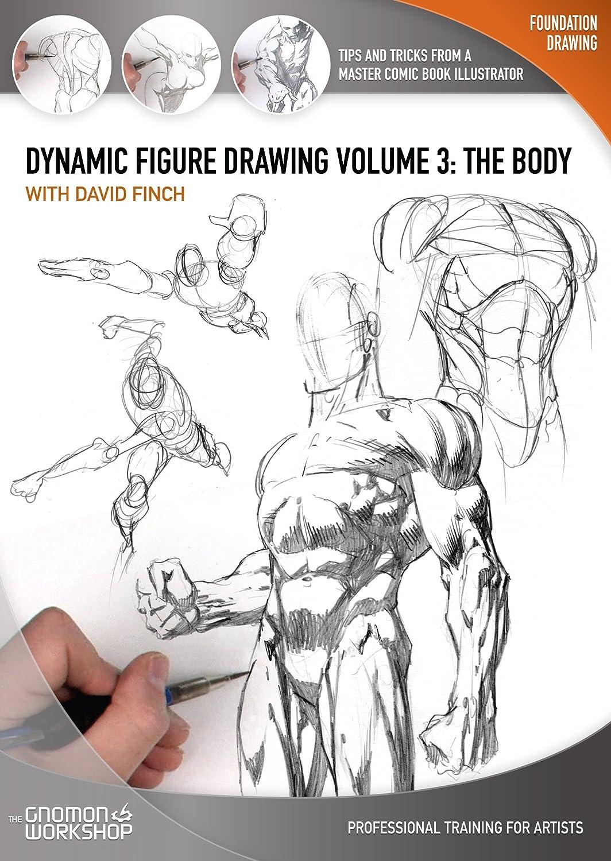 Amazon com: Dynamic Figure Drawing: The Body: David Finch
