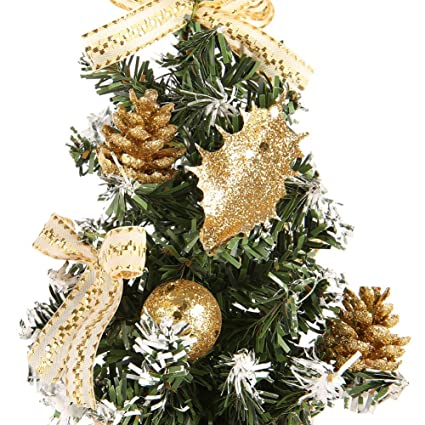 wingbind small christmas desk tree goldenblueredsilver christmas tree for - Red And Silver Christmas Tree