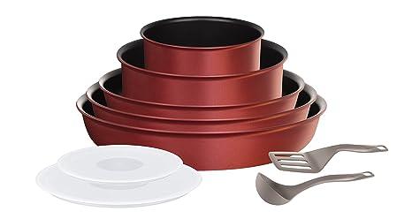 Tefal L6599302 Kit de cacerolas - Kits de cacerolas (Rojo ...