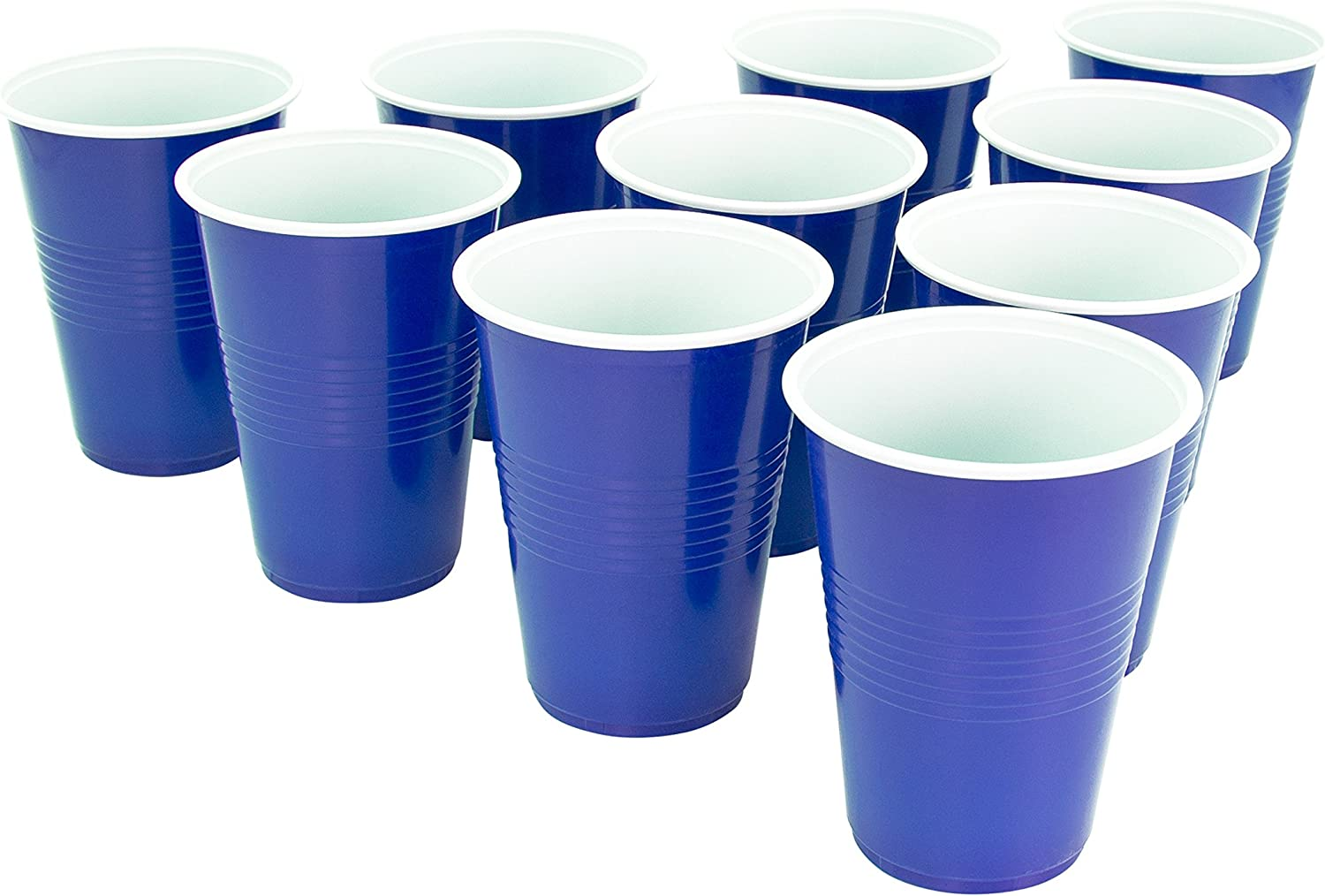 Global Gizmos 50670 Beer Pong Set Multi Party//Fun 24 Cups /& 3 Balls 23cm x 10cm Adult Only Drinking Game