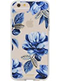 """iPhone 8 / iPhone 7 / iPhone 6, Sonix INDIGO Clear Coat Cell Phone Case (flower, blue) - Drop Test Certified - Sonix Clear Case Series for Apple (4.7"""") iPhone 6, iPhone 6s, iPhone 7, iPhone 8"""