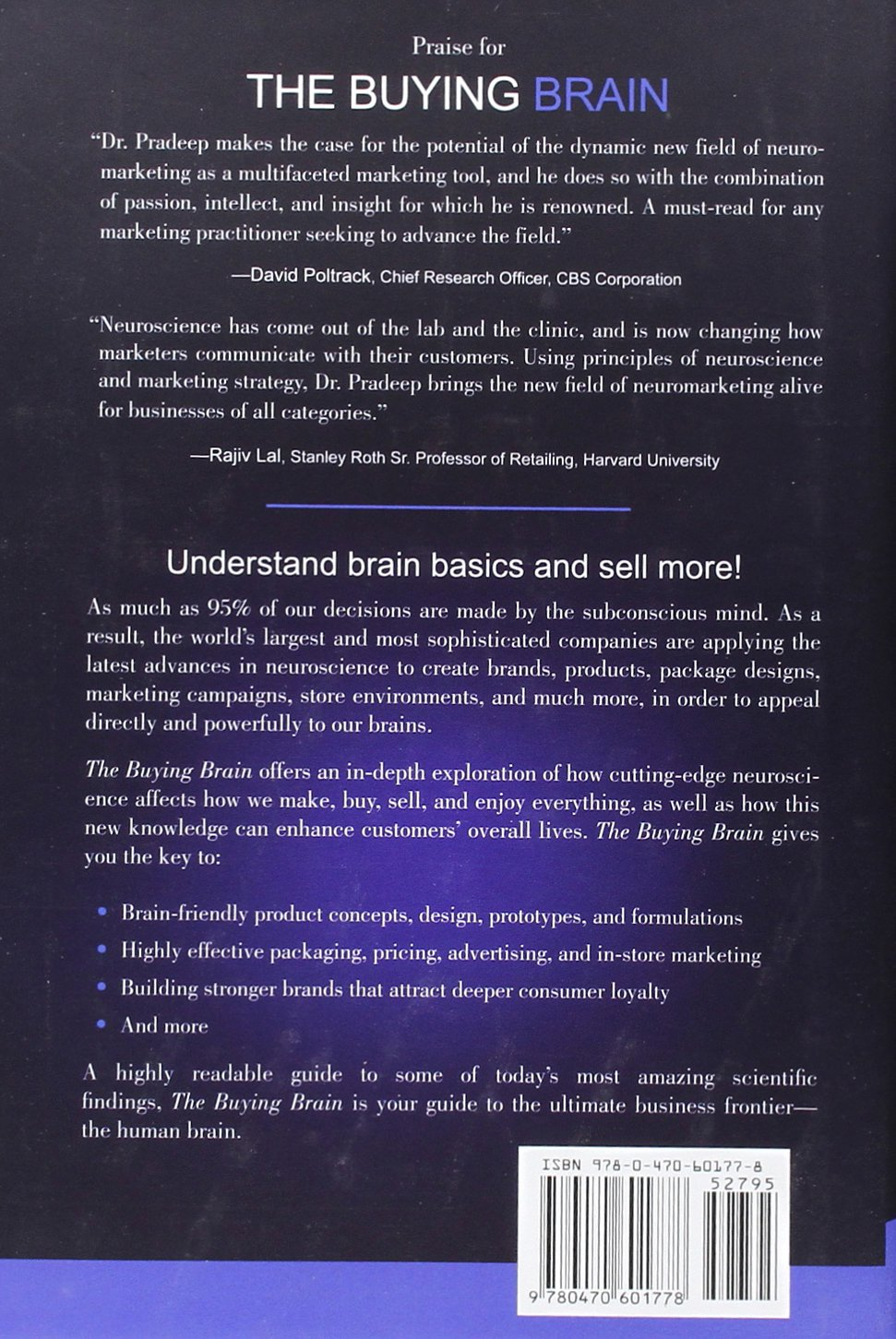 e19a276c9e8d The Buying Brain  Secrets for Selling to the Subconscious Mind   Amazon.co.uk  A. K. Pradeep  9780470601778  Books