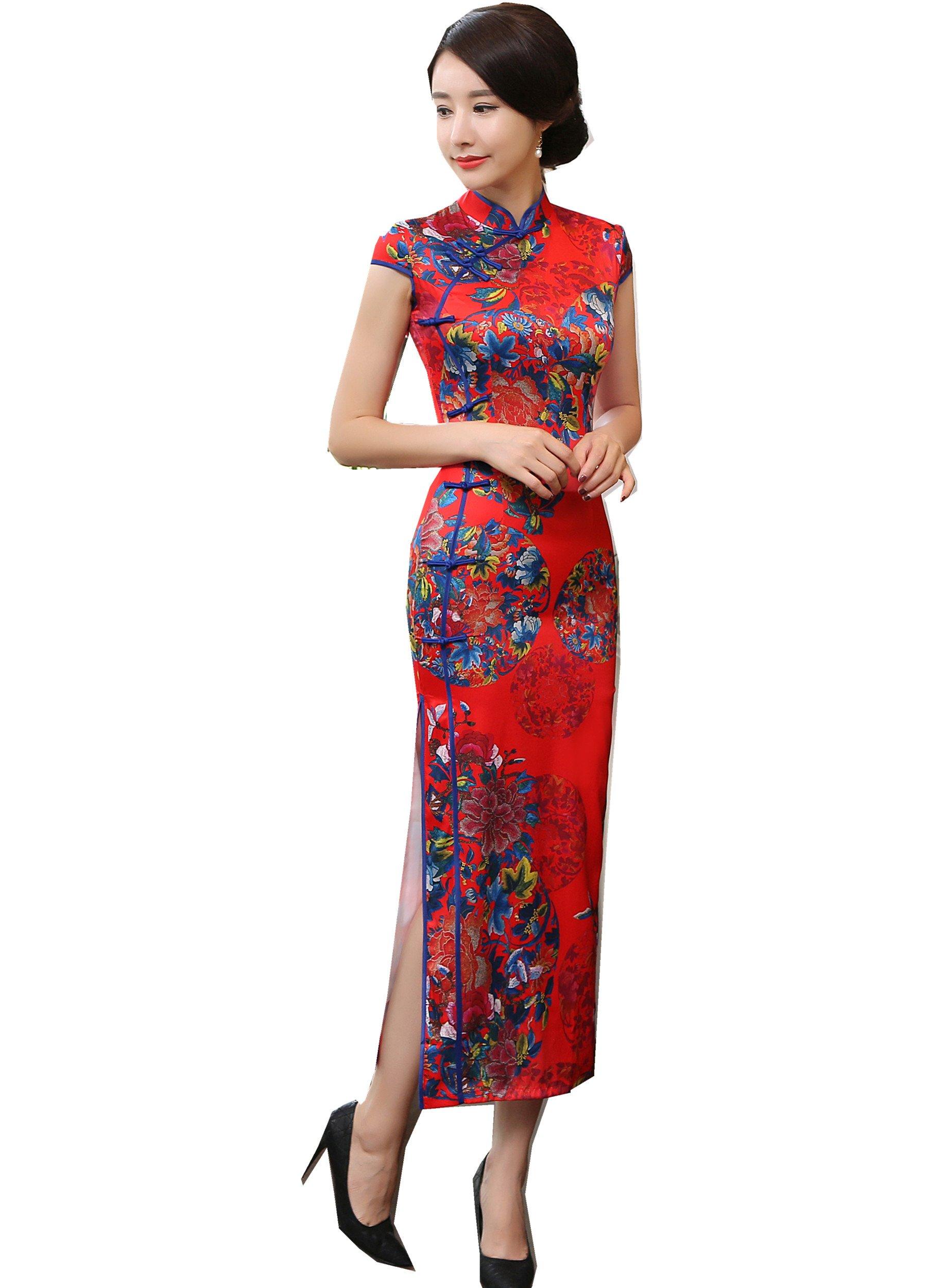 Shanghai Story Short Long China Qipao Chinese Traditional Dress Cheongsam 2 153