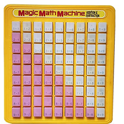 Magic Math Addition and Subtraction Learning Game: Toys & Games