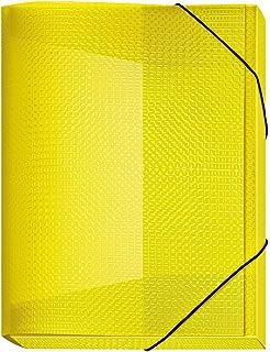 Sammelmappe PP A4 40mm Velocolor gelb Gummizug