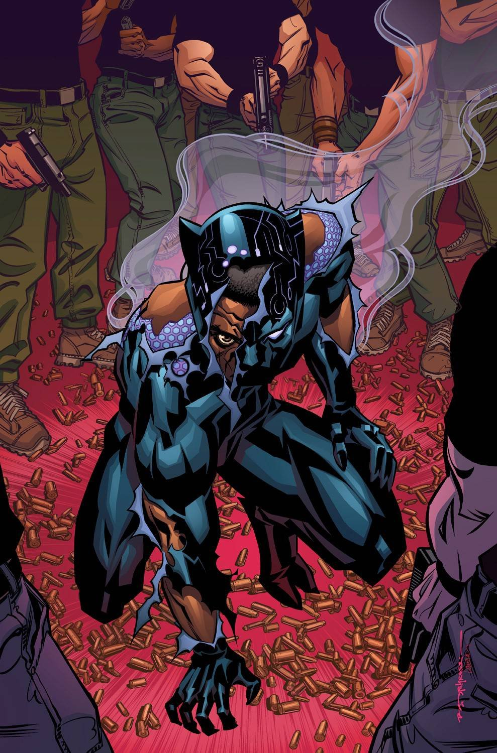 Download BLACK PANTHER #16 VOL 6 COVER A PDF