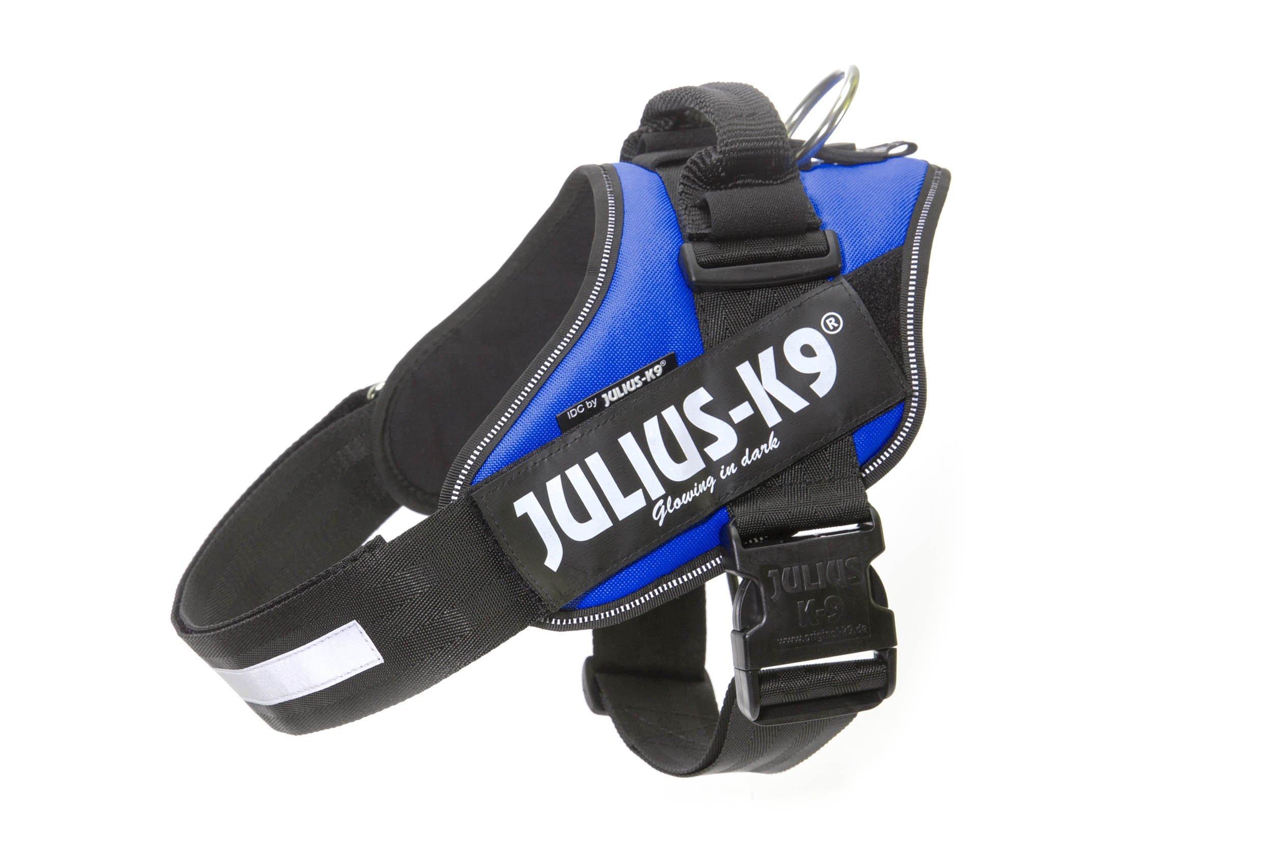 Julius-K9 16IDC-B-3 IDC Power Harness, Size: 3 (82-115cm/32.5-46.5''), Blue