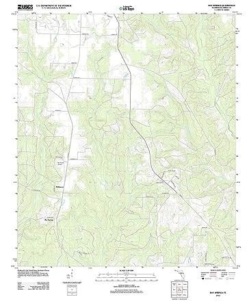 Amazon Com Florida Maps 2012 Bay Springs Fl Usgs Historical