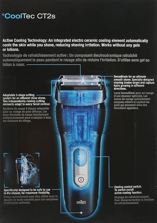 Braun Cool Tec de hombre Solo Maquina: Amazon.es: Belleza