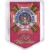 de5aa186a1f1b Amazon.com  Veterans of Foreign War Logo Embroidered Iron on or Sew ...