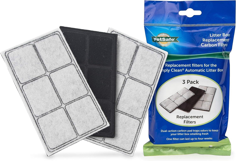 PetSafe Cat Litter Box Replacement Carbon Filters