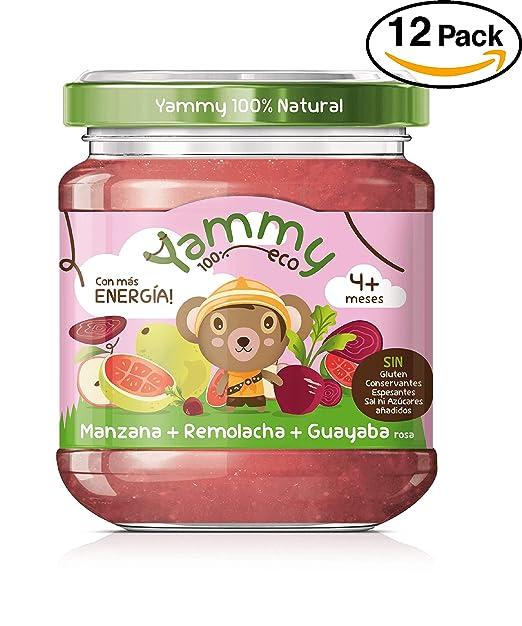 Yammy, Potito Ecológico de Frutas (Manzana, Remolacha, Guayaba Rosa) - 12