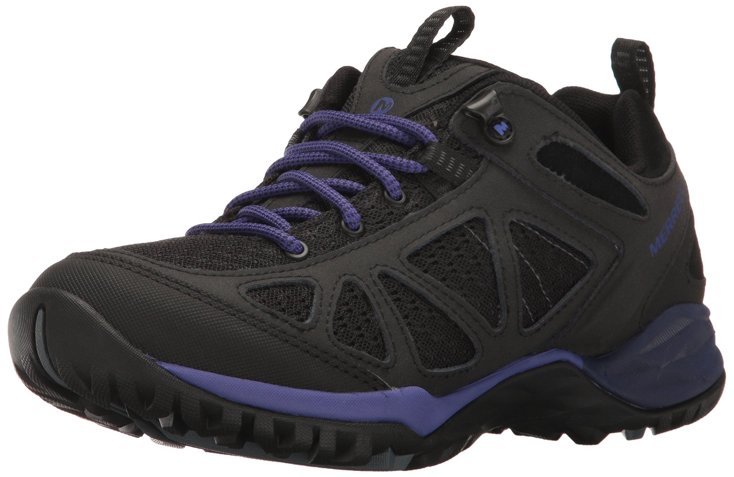 Merrell Women's Siren Sport Q2 Hiking Shoe, Black/Liberty, 11 M US