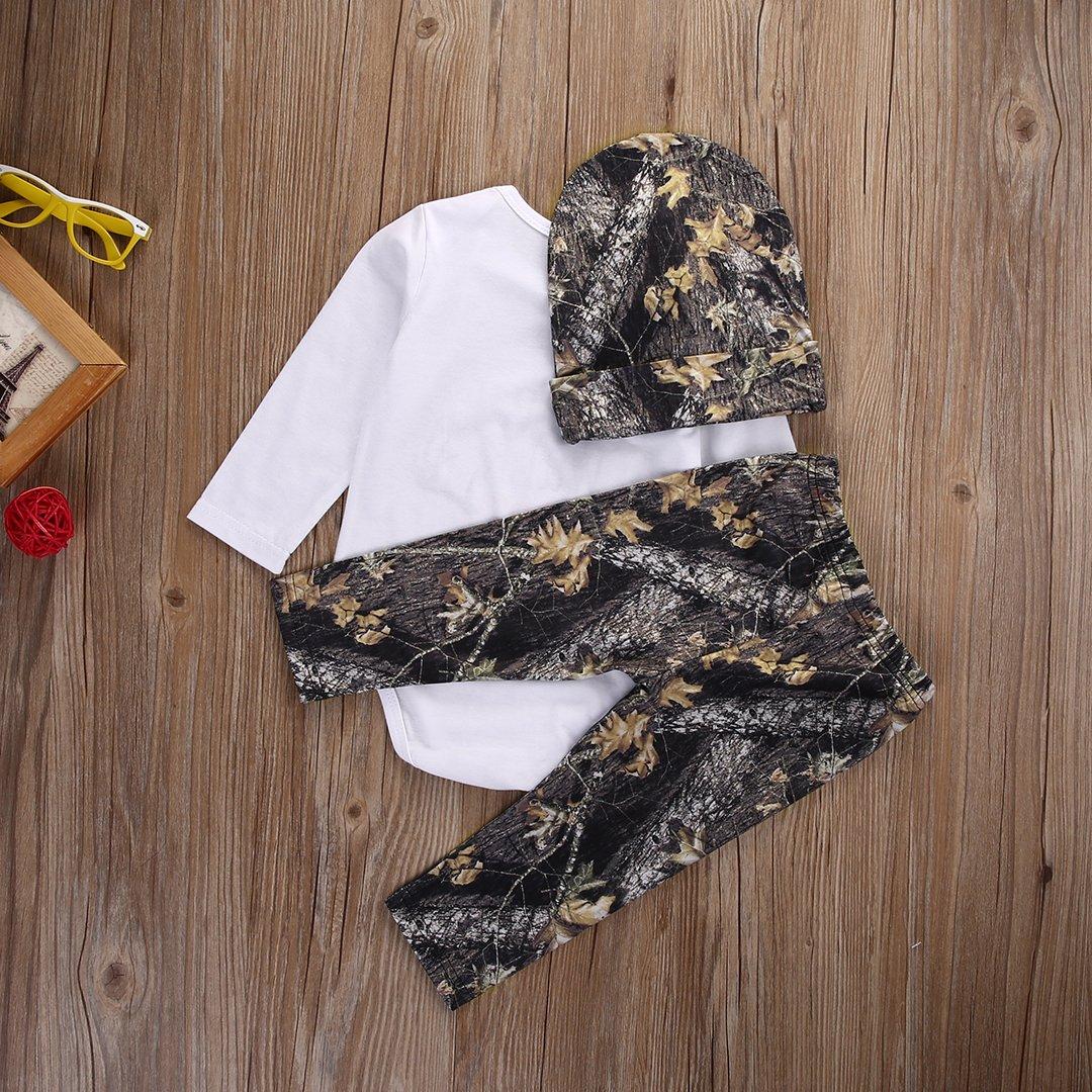 Amazon.com: Conjunto de ropa de manga larga para recién ...
