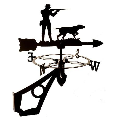 Dragon W142BLK arma y perro, veleta con forma caza: Amazon ...