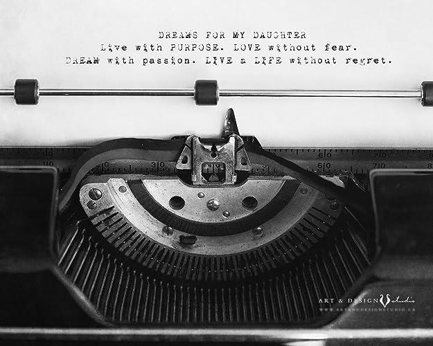 Amazon Inspirational Daughter Quote Print Poem Sentimental