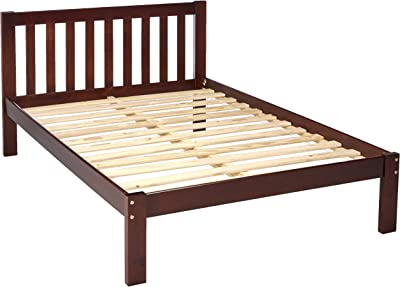Amazon Com Ikea Malm Black Brown Full Size Bed Frame