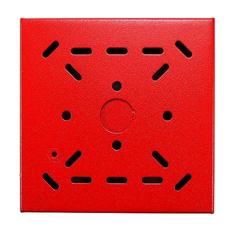 Cooper Wheelock shbb-r superficie Back Box 107254 alarma de ...