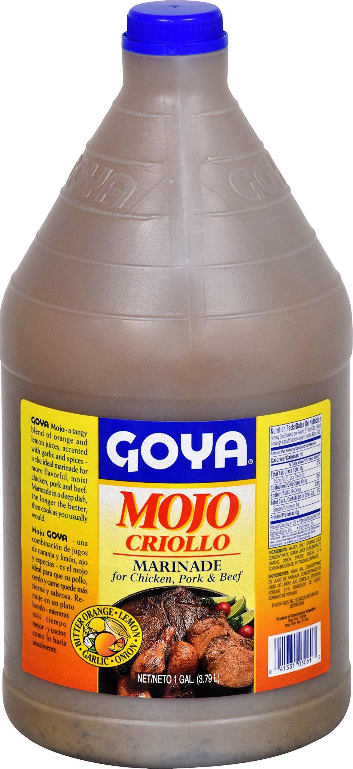 Goya Foods Mojo Criollo Marinade, 128 Ounce (Pack of 6) by Goya