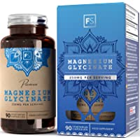 Magnesio glicinato 250 mg   Supporta la funzione neurologica e cardiovascolare   Per supporto all'umore, ai muscoli ed al sonno   Integratori di magnesio puro altamente biodisponibile