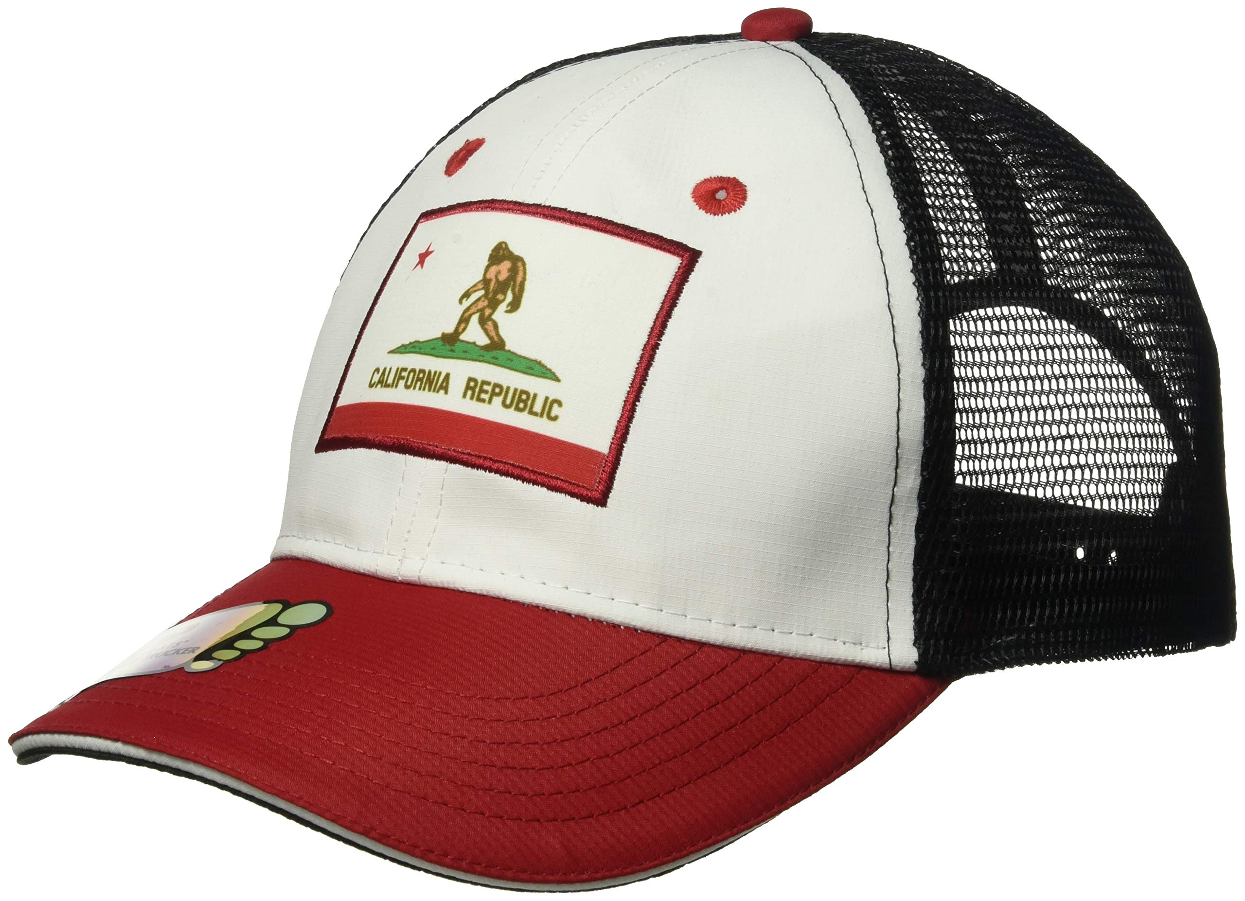 Headsweats Trucker Bigfoot California Hat, White, One Size