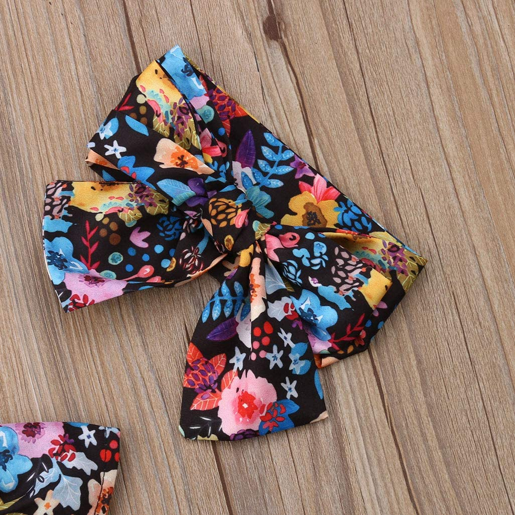 6M-4T Toddler Baby Girls One Piece Swimsuit Family Matching FloralSwimsuit Flounce Swimwear Bathing Suit