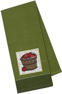 Design Import India, Towel Dish Barrel Of Apples