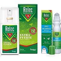 Pack Ahorro antimosquitos Relec Extra Fuerte + Relec Post-Picaduras, Spray repelente de mosquitos, Con eficacia y…