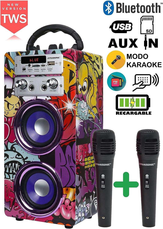 Altavoz Bluetooth Portátil con Karaoke y Micrófono