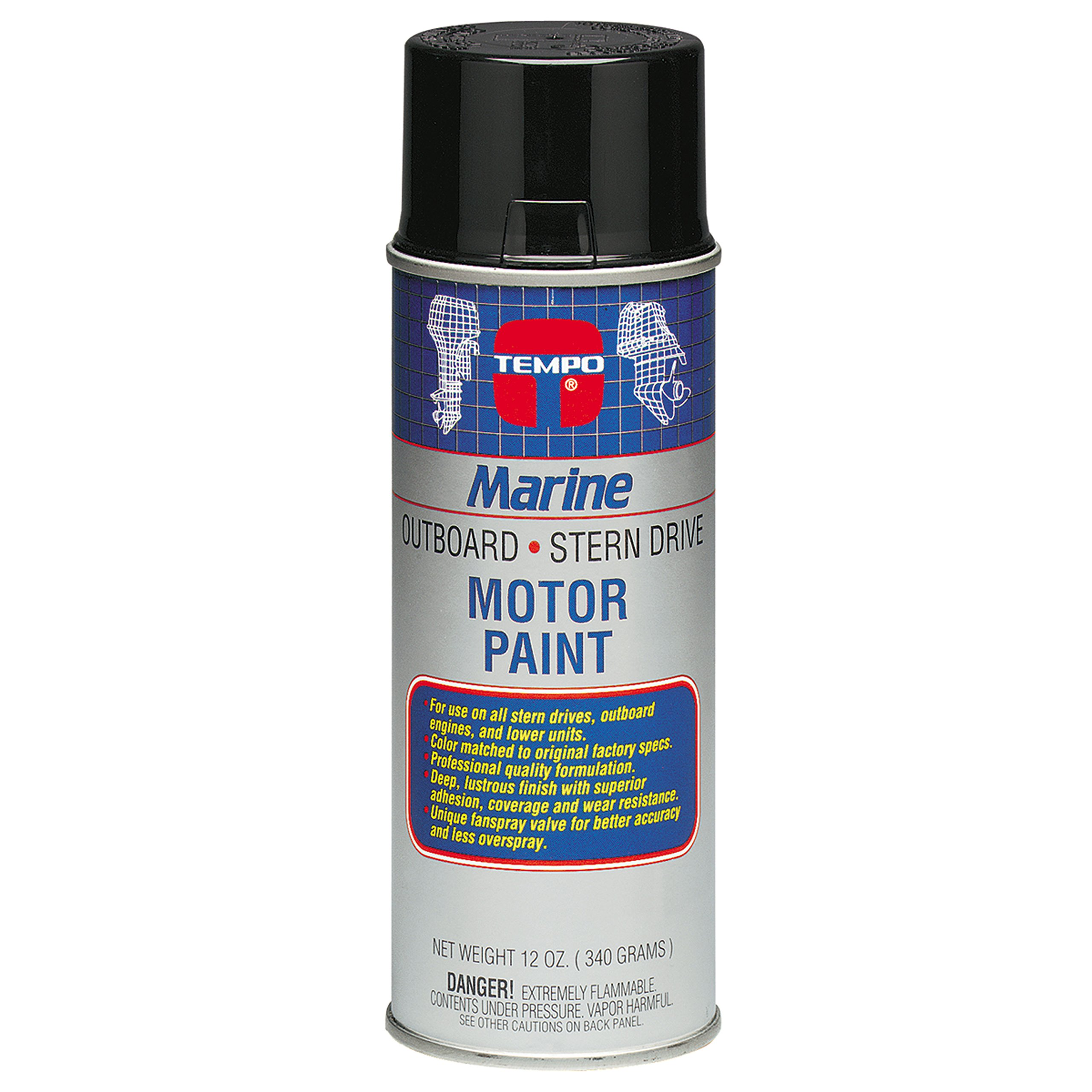 Moeller 025814 Engine Paint - Yamaha Blue Gray, 12 oz. , Package may vary