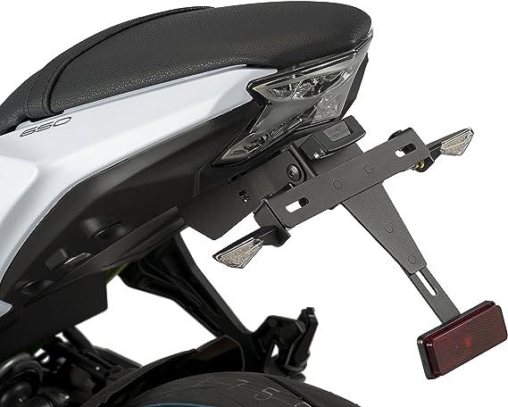 Puig Kennzeichenhalter 9353n Für Kawasaki Ninja 650 17 18 Kawasaki Z650 17 18 Kawasaki Schwarz Auto