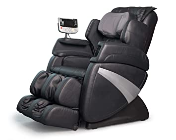 cozzia ec363e shiatsu massage zero gravity chair black
