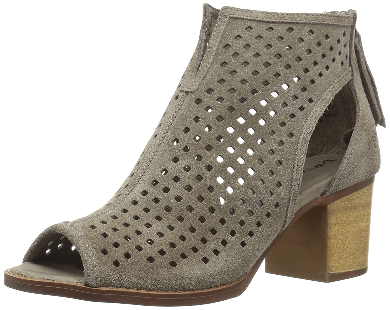 Dirty Laundry by Chinese Laundry Women's Tessa Ankle Boot B072JBM3VL 6.5 B(M) US|Grey Split Suede