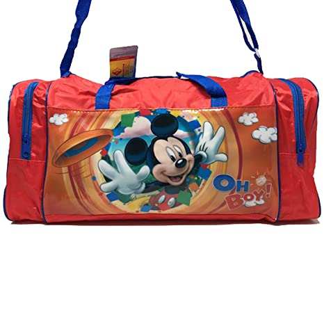 topolino Mickey Mouse Disney Bolsa de Deporte copn Bolsillos ...