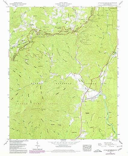 Amazon Com Yellowmaps Little Switzerland Nc Topo Map 1 24000